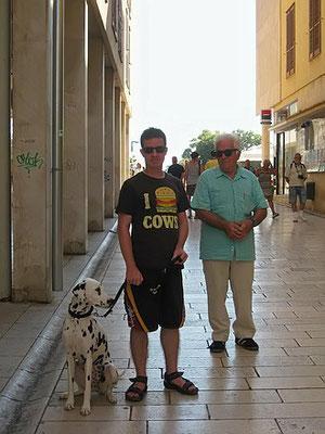in der Altstadt Zadars