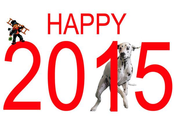 Wir wünschen ein tolles neues Jahr!