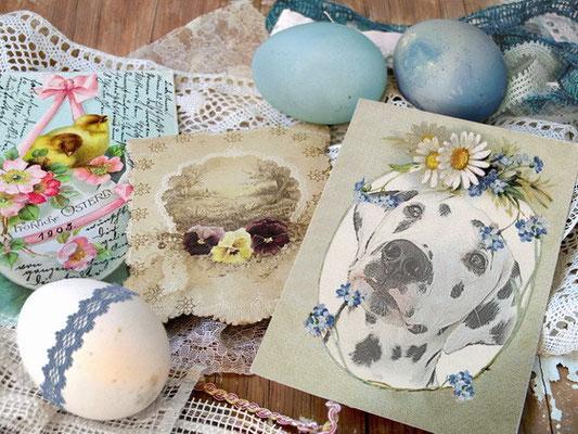 schöne Ostern und spannendes Eiersuchen