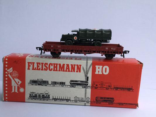 Fleischmann Art. Nr. 5222 mit Roskopf-LKW als Ladegut