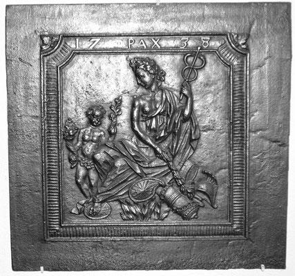 Takenplatte, Der Friede von Wien, Saarland, dat. 1738