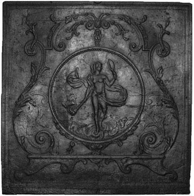Nr. 327   Venus, Kaminplatte 81 x 82 cm, Lothringen, 18./19 Jh.