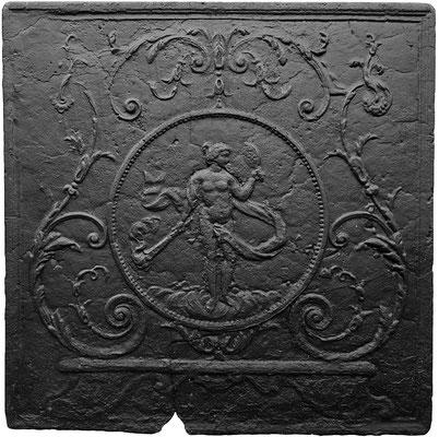 Inv.-Nr. 329   Venus oder der Abend,  Kaminplatte 81 x 82 cm, Lothringen, 18./19. Jh.