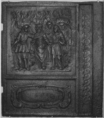 Inv.-Nr. 160   Loth und seine Töchter, Ofenplatte xx x xx cm, Eisenschmitt/Weilerbach (?), ab 1683