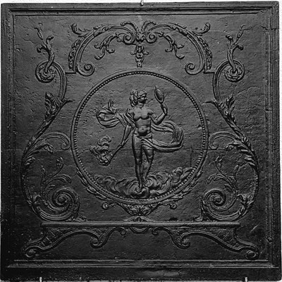 Inv.-Nr. 328   Venus, Kaminplatte 81 x 82 cm, Lothringen, 18./19. Jh.