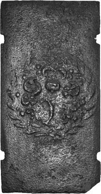 Inv.-Nr. 359   Blumenbukett, Ofenplatte 42 x 82, Lothringen, 18. Jh.