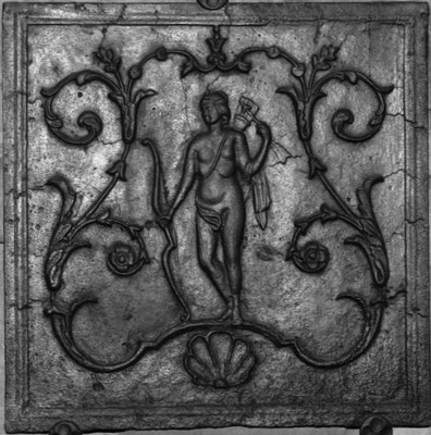 Inv.-Nr. 298   Diana, Kaminplatte xx x xx cm, Lothringen, 2. H. 18. Jh.
