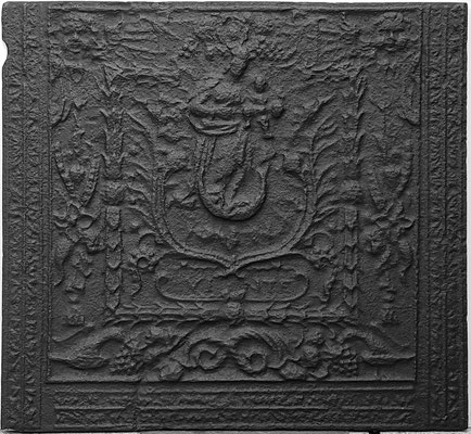 Inv.-Nr. 235   Madonna als Himmelskönigin, Kaminplatte xx x xx cm, Quint, ab 1683
