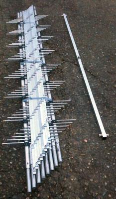 7L3HZS 23エレ4パラ2段とフィックス企画の分配器