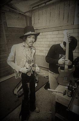 Jimi Hendrix concerto a Zurigo nel 1968