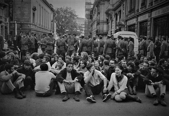 Manifestazione di protesta Ginevra 1968