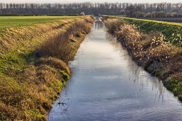Jägerschrittkanal bei Huttenheim