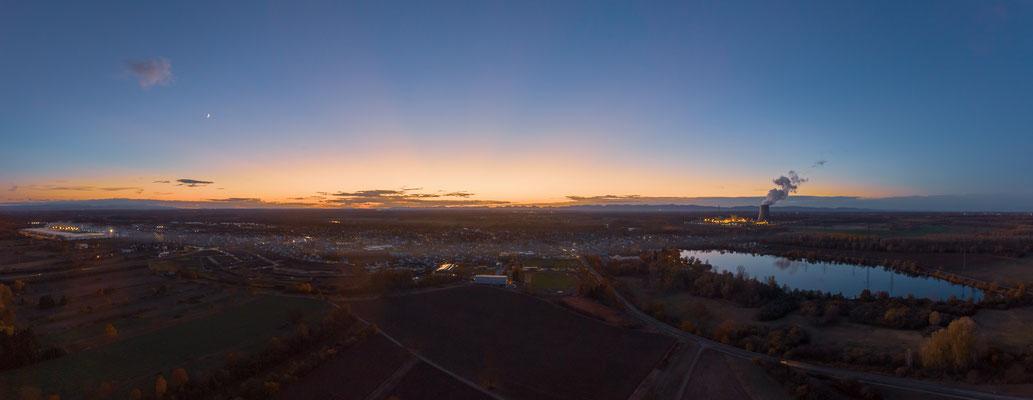 Panorama Philippsburg