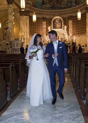 Matrimonio New York USA Church Romance