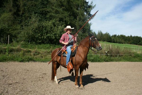Unterschiedliche Garrochas finden Sie unter Working Equitation Zubehör