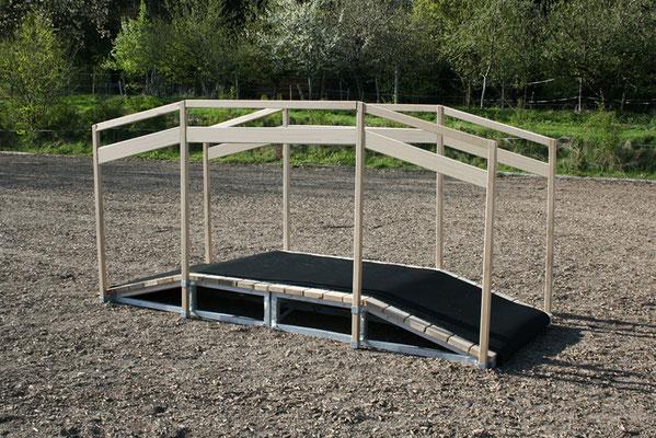 Neu: mit breiterem Geländer für noch mehr Stabilität.