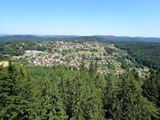 Blick auf Wilhelmsfeld