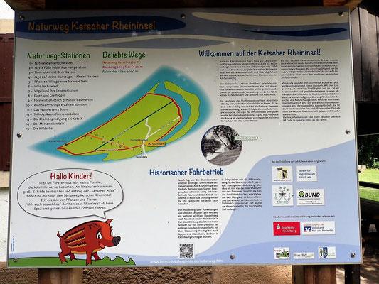 Informationen am Försterhaus