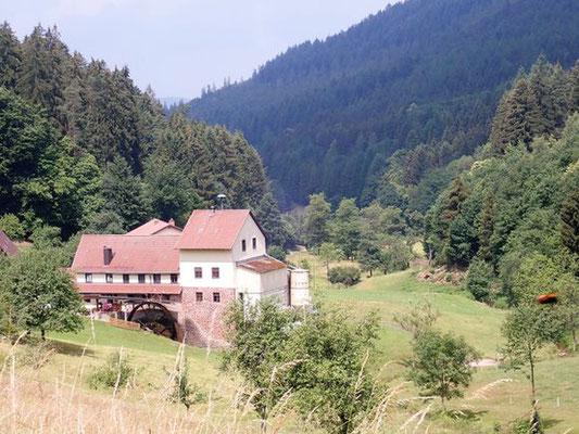 Holzner Mühle im Oberhöllgrund