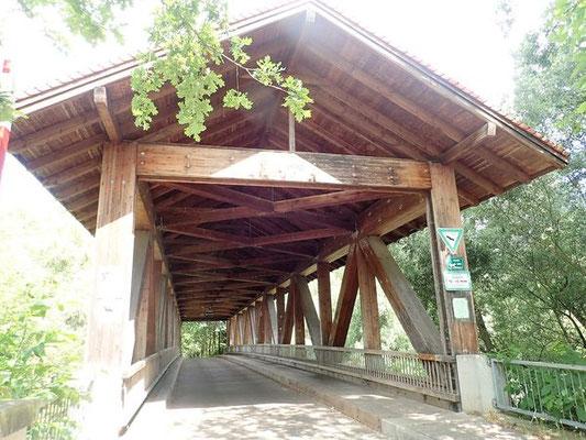 Fachwerk-Brücke