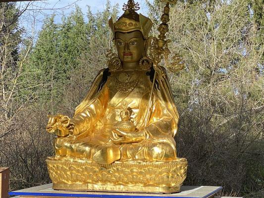 Budda am budistischen Kloster Siedelsbrunn