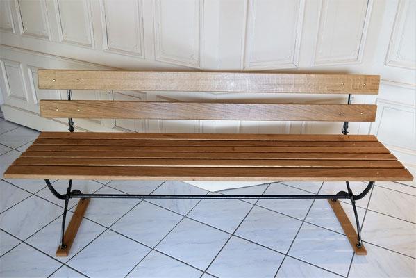 S119 Sitzbank Scherenfüße