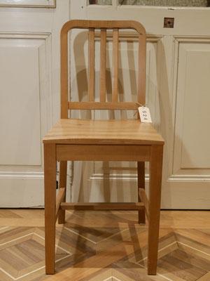 S24 Stuhl Birne lackiert ungepolstert (auch in Kirsche, Nußbaum) H900xB400xT400 SH500mm