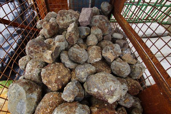 Vulkansteine, D 100-150mm