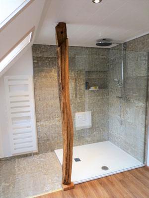Trennwand für Duschkabine