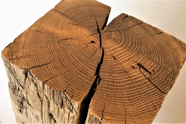 Stehle Fichte natur, H 112 cm, Stahlfußplatte 30 x 30 cm, EUR 147,-