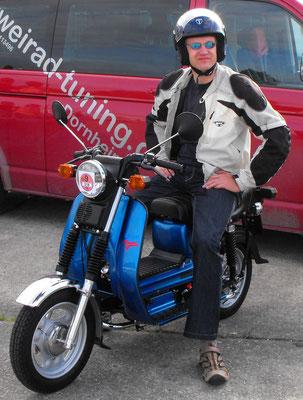 Zweiräder - Aufbau, Umbau & Restauration Simson SR50CE