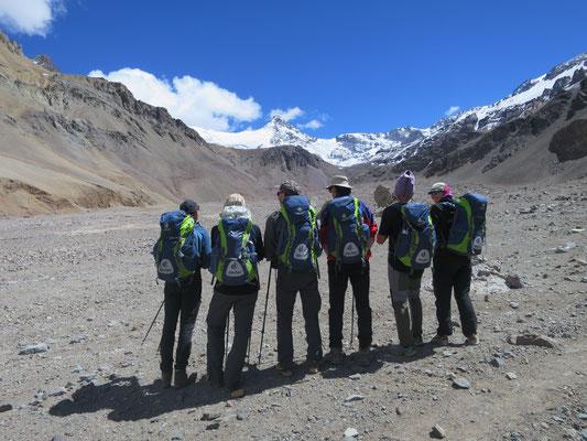 & der Expeditionsrucksack von AMICAL alpin ist immer dabei