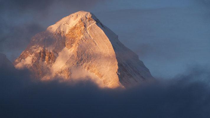 Blick auf den Khan Tengri Bilder R. Rumpa