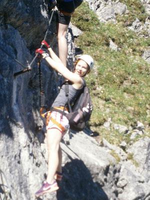 Sportklettersteig Kanzelwand, Zweiländer Klettersteig Kanzelwandbahn, Walser Klettersteig, Das höchste, AMICAL alpin, Bergschule in Oberstdorf, Bergschule im Kleinwalsertal
