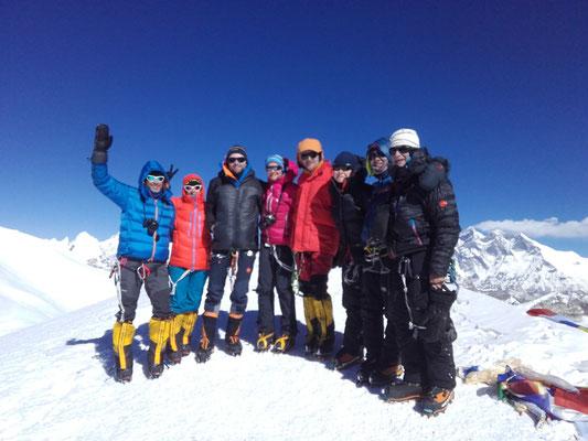 Mera Peak, Mera Peak Trekking, Mera Peak Gipfelerfolg, Mera Peak besteigen