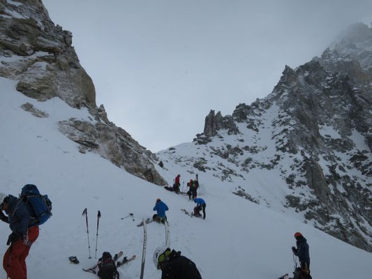 Haute Route, Haute Route Skidurchquerung, Haute Route Zermatt - Chamonix, Haute Route Chamonix - Zermatt, Skibesteigung Mt. Blanc
