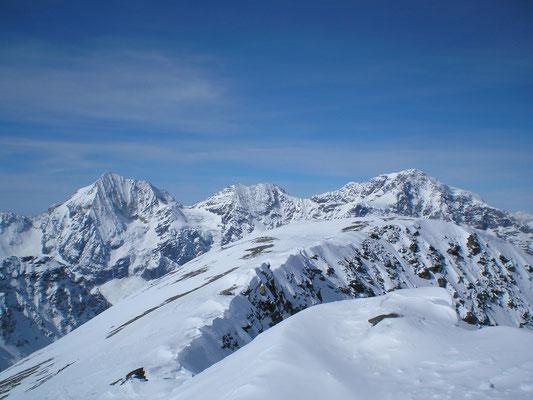 Ortler - Zebru - Königspitze (Termin Skitour Winter)