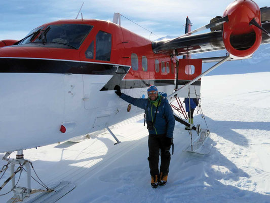 Per Twinotter ins Basislager, Expeditionen, Expeditionen in Argentinien