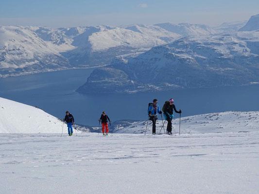 Skitouren in Lyngen Norwegen, Skitourenreisen, AMICAL alpin