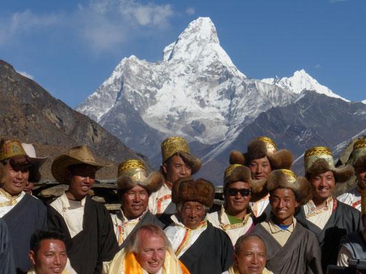 kyajo ri 6168m, Expeditonen in Nepal, Expedition kyjao ri, Expeditinen, expedition