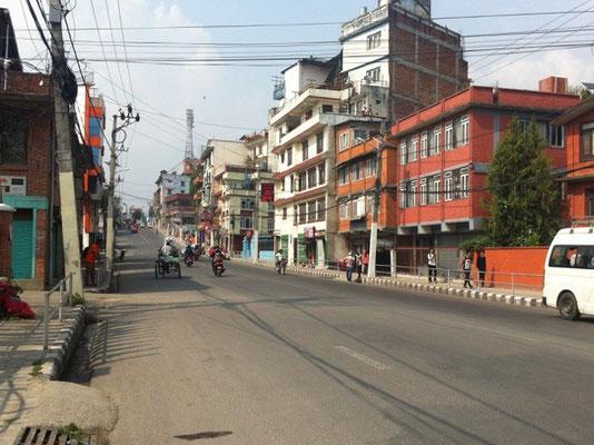 Nach dem Erdbeben in Kathmandu ©Billi Bierling