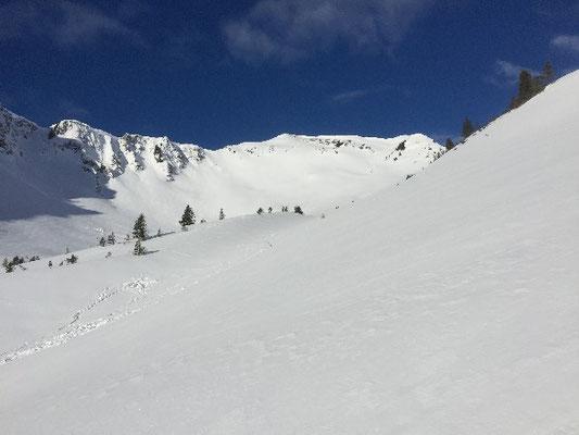 Skitourenkurs, Skitourenkurs Schwarzwasserhütte, Skitourenkurs Kleinwalsertal