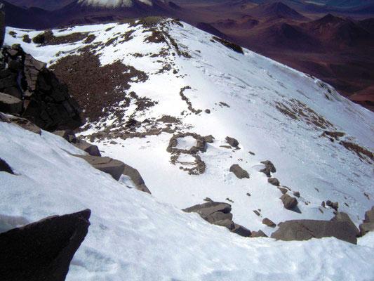 archäologische Stätte auf ca. 6700 m, Llullallaco, Socompa, Thron der Inka, Expeditionen, Expeditionen in Argentinien