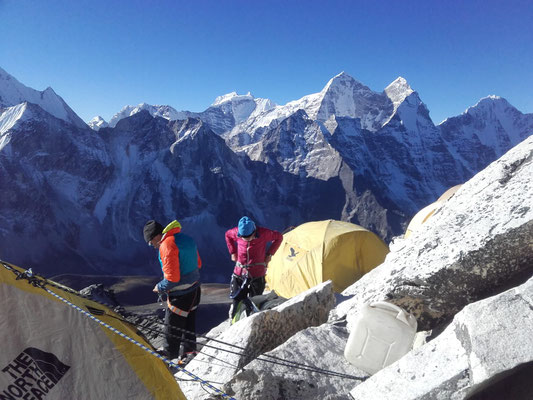 AMICAL alpin, Ama Dablam Expedition 2018, Hochlager AMA DABLAM