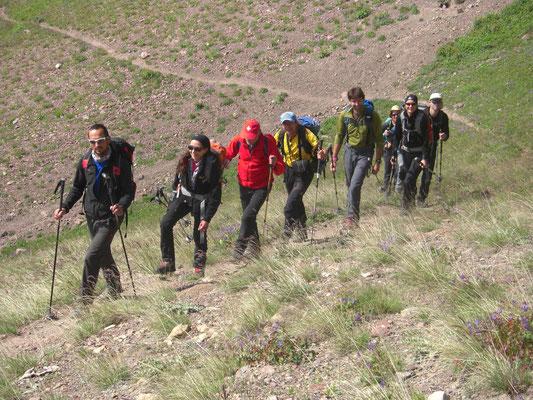 Akklimatisation das A und O im Höhenbergsteigen