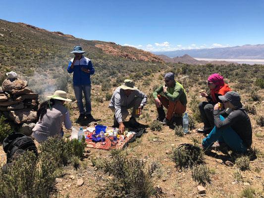 Expeditionen, Expeditionen in Argentinien