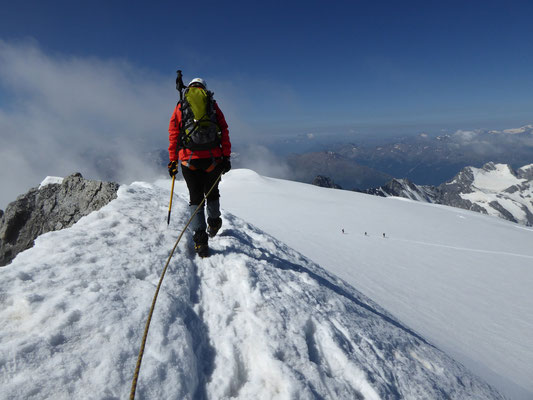 Ortler 3.309m, Normalweg, Ortler übers Wochenende besteigen