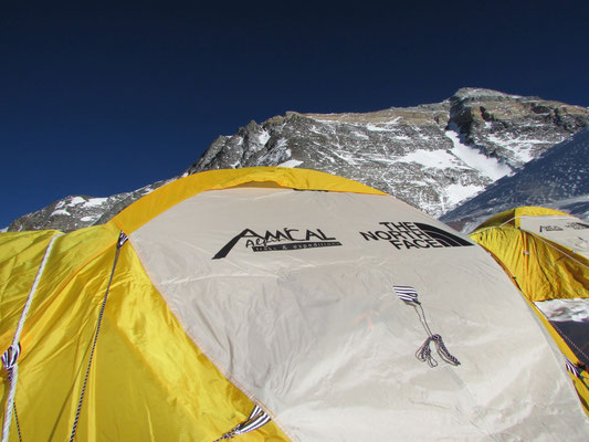 Mount Everest Expedition mit AMICAL alpin, Mount Everest von Tibet, Mount Everest von Norden, Gipfelerfolg am Mount Everest