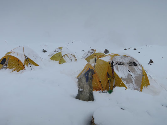 sehr viel Schnee im BC ...