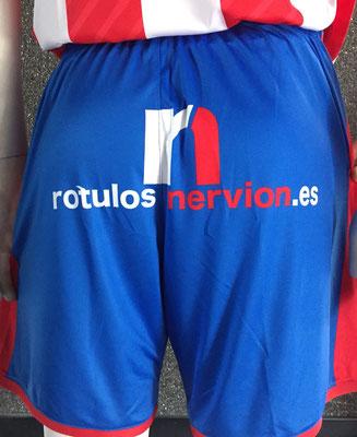 Uniforme de jugador Rótulos Nervión